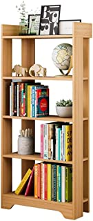 Wood Display Rack Storage Organiser Modern Wood Bookshelf Home Office Furniture - Natural Bookshelf Free Standing Storage ...