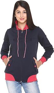 HARDIHOOD Women's Fleece Hooded Sweatshirt