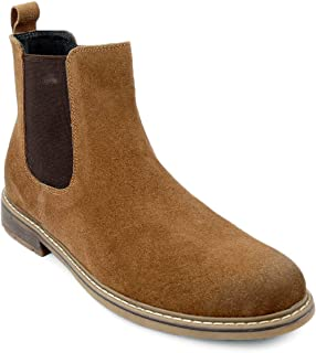 Shences Genuine Leather mid Ankle Chelsea Boots