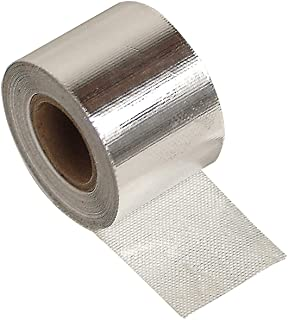 "Design Engineering 010408 Cool-Tape Self-Adhesive Heat Reflective Tape, 1.5"" x 15' Roll"