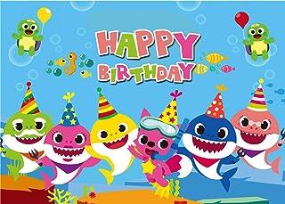 Analytical Baby Shark Personalised Birthday Milestone Board digital File Traveling