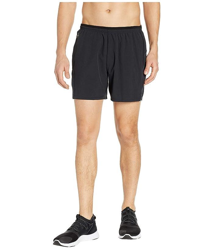 Smartwool Merino Sport Lined 5 Shorts (Black) Men