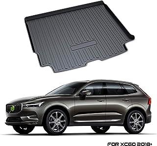 YEE PIN Kofferraummatte für Volvo XC60 SPA 2018 2019   Seitenschutz TPO Material Laderaumschale Schutzmatte für Sicheren Transport von Gepäck Rutschfester Autozubehör