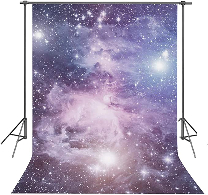 FUERMOR Space Themed Party Backdrop 7x5ft Universe Planet Photography Background Photo Video Props LHFU025