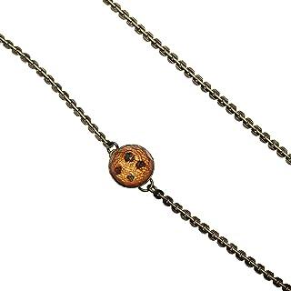 Tamarusan Glasses Chain Orange Unisex Glass Holder Strap Hamdmade