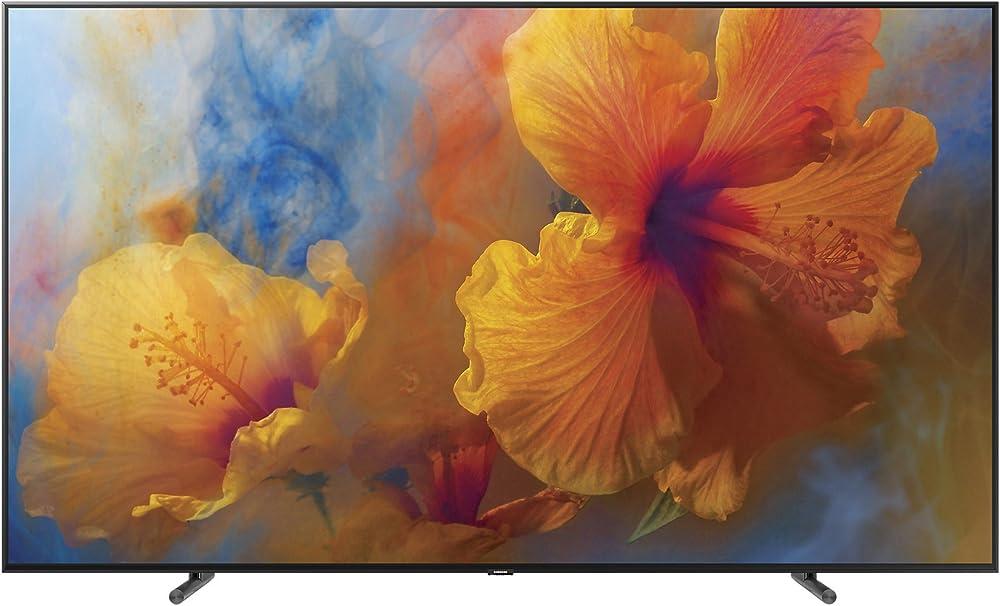 Samsung qled, smart tv 65 pollici 4k ultra hd 4k 3840 x 2160 pixels,wi-fi QE65Q9FAMTXZT