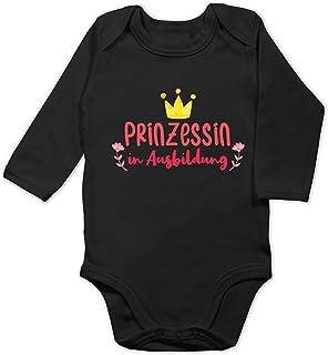 Shirtracer Sprüche Baby - Prinzessin in Ausbildung - Baby Body Langarm