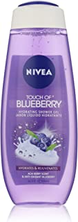 Nivea Hydrating Shower Gel, Acai Berry and Powerfruit Blueberry, 16.9 Ounce