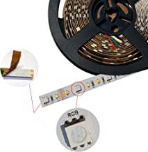 K2 Home Tech High Output 5M RGB CCT LED Strip, 90 LEDs per Meter, Total 450 LED's, Maximum 2750 Lumen Output on Cool White. 16 Million Colors and Tune-able Whites…