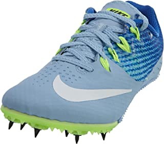 Zoom Rival S 8 Track Spikes Shoes Womens Size 10.5 (Blue-Cap, Hyper Cobalt, Ghost Green,White)