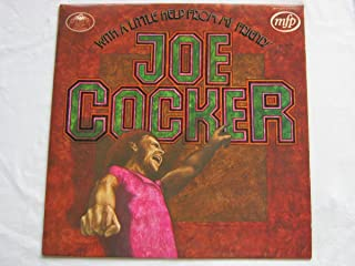 Joe Cocker With A Little Help From My Friends LP Music For Pleasure MFP5275 EX/EX 1970s