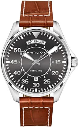 Hamilton - Khaki Pilot Day Date - H64615585