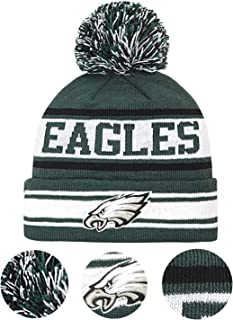 Best eagles beanie with pom Reviews