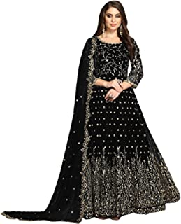 Heavy Embroidered Georgette Indian Women Anarkali Dress Pakistani Muslim Cocktail Party wear Bollywood Hit Design 6687