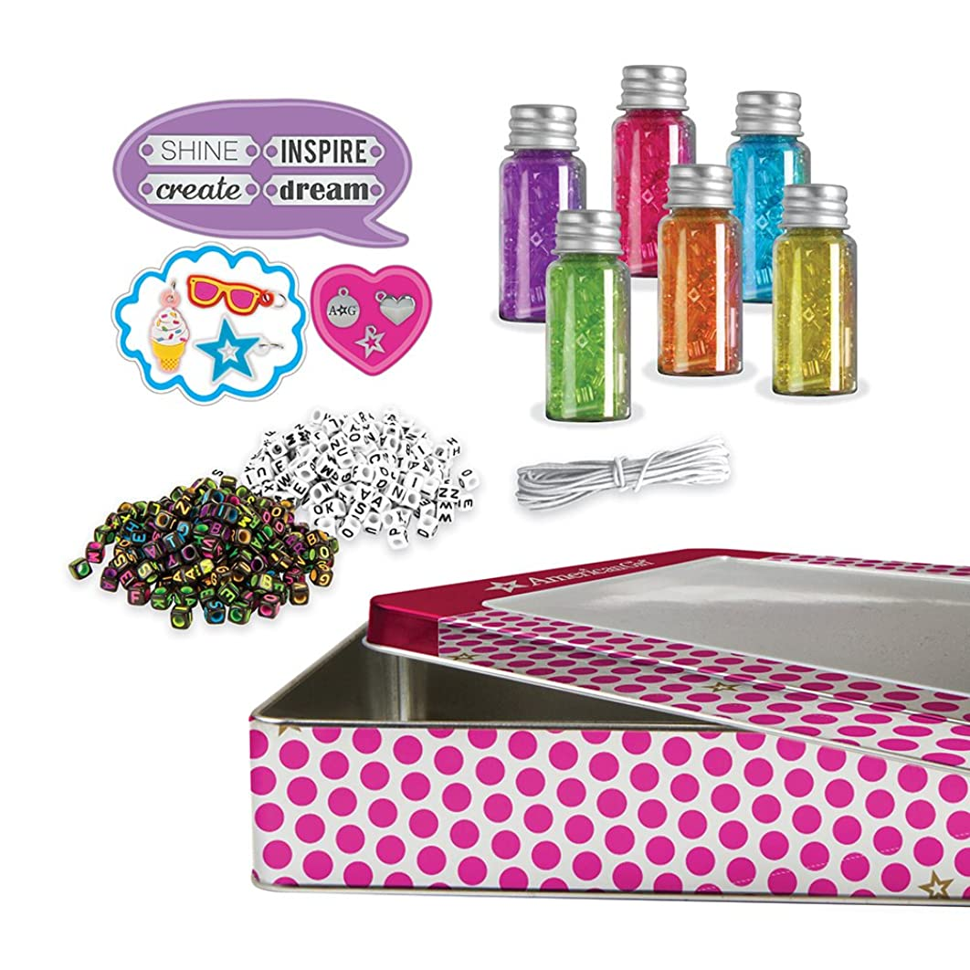 American Girl 24180 All About All About Beading Kit, Multi