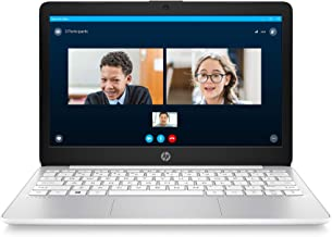 HP Stream 11-inch HD Laptop, Intel Celeron N4000, 4 GB RAM, 32 GB eMMC, Windows 10 Home in S Mode with Office 365 Personal for 1 Year (11-ak0020nr, Diamond White)