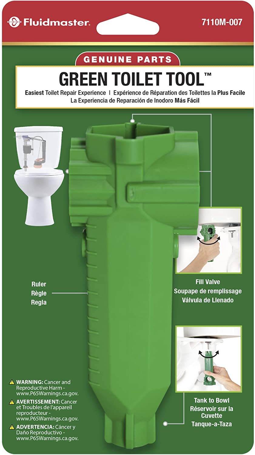 Fluidmaster 7110M-007-P10 Green Quality Now free shipping inspection Toilet tool