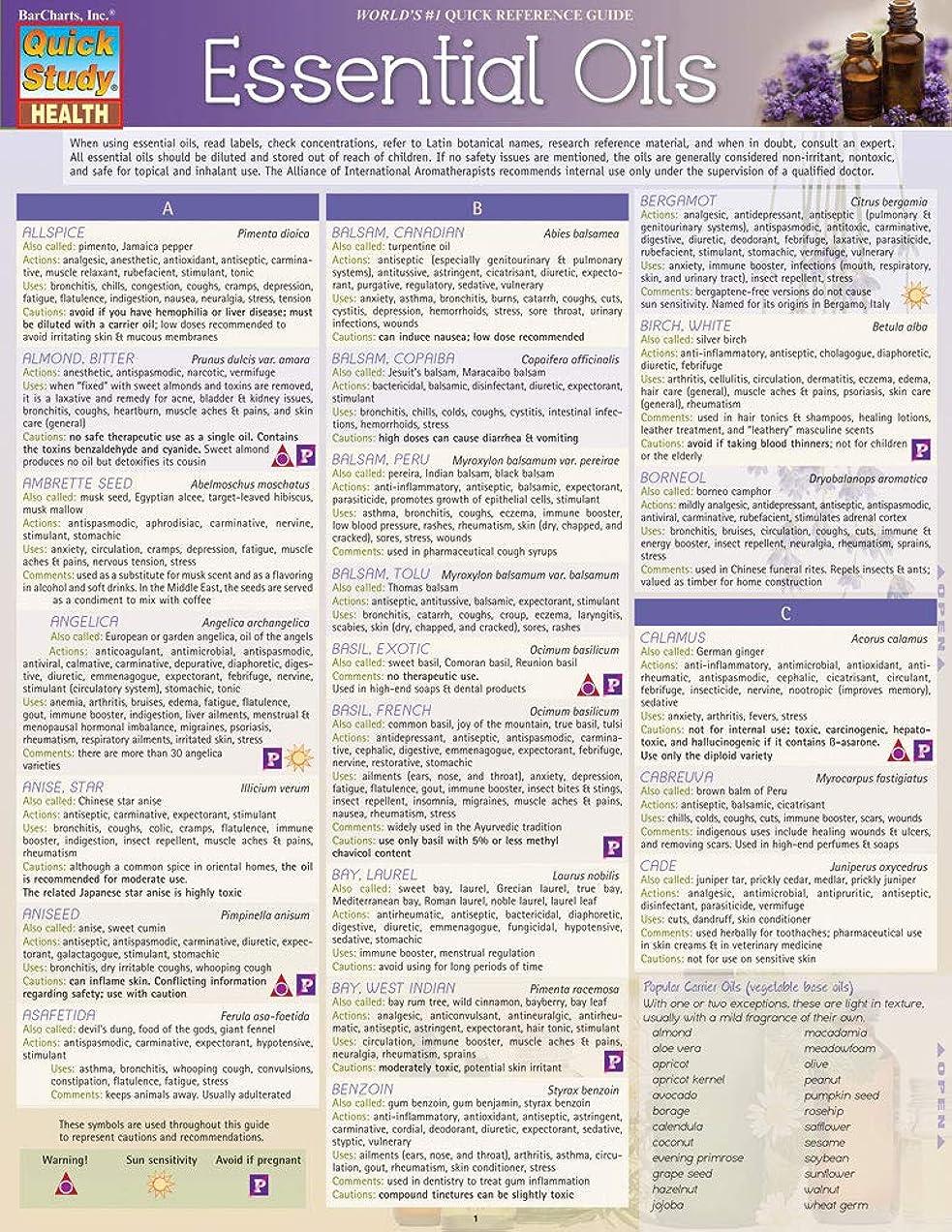 現代注文医療過誤Essential Oils (Quick Study Health) (English Edition)