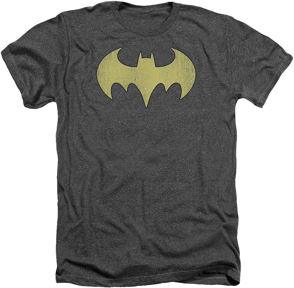 Batman - Batgirl Ranking TOP10 Logo S Size Distressed Quality inspection T-Shirt