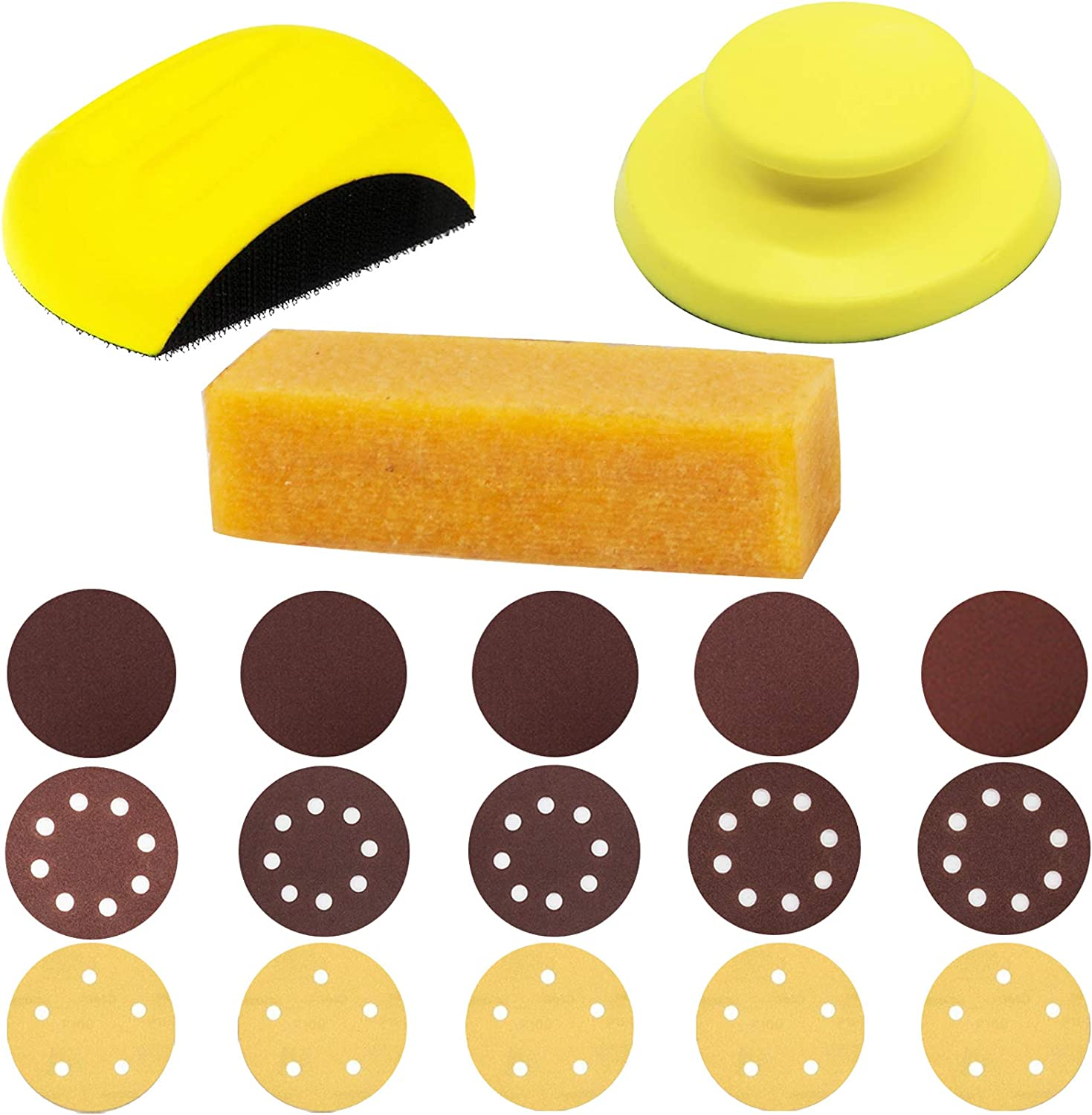 """Hand Sanding Blocks with 4.5"""" GOH DODD Clearance SALE Limited time Belt cleaner Eraser Colorado Springs Mall"""