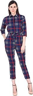 Fasnoya Womens' Crepe Jumpsuit crd81d-xs_Multi-Coloured_X-Small