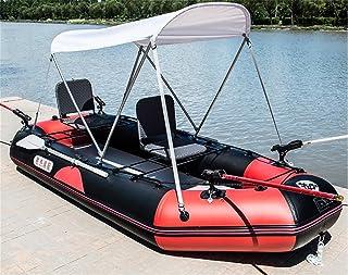 POTA 3-Persona Kayak Bote Inflable a la Deriva Botes de Asalto engrosadas Barco de Pesca