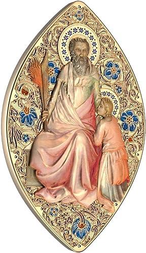 El ultimo 2018 Old Testament Prophets Abraham Profeta World Heritage 1 Oz Oz Oz Moneda plata 2  Niue 2015  moda clasica