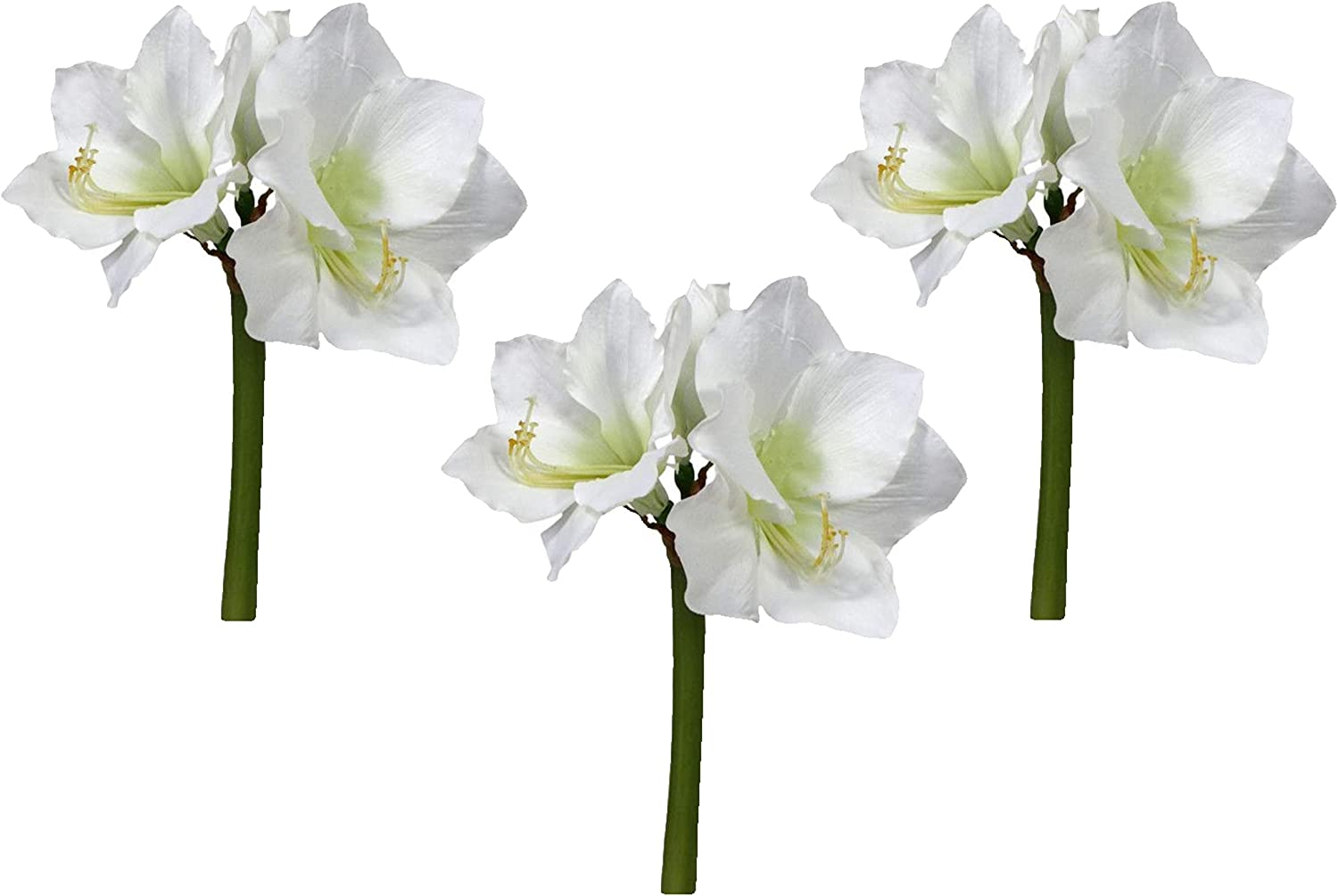 Floral Kingdom Mail order cheap Real Touch 30' Artificial NEW before selling ☆ Amaryllis XLarge Flower