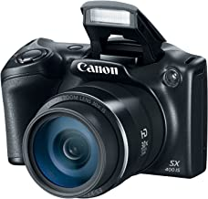 Canon PowerShot SX400 Digital Camera 16.0 Megapixel sensor with 4x Digital and 30x Optical Zoom (24-720mm) and 24mm Wide-Angle lens(Renewed)