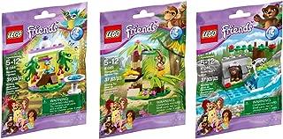 LEGO, Friends, Animal Set Series 5 Bundle Set of 3 (41044, 41045, and 41046)
