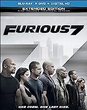 Furious 7 (Blu-ray + DVD + DIGITAL HD with UltraViolet)