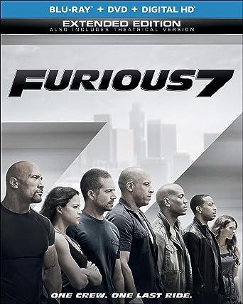 Furious 7 [Edizione: Stati Uniti] [Italia] [Blu-ray]