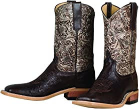 Rod's Nicotine Smooth Ostrich Boot By Anderson Bean