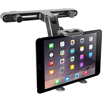 Magichold 360/º Rotating Double Hold Car Mount//holder compatible with ipad Mini ipad pro iPAD Air iphone//Any tablets any smartphone UPSTAND QXT-3C 9-11 Inch