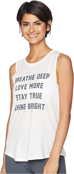 Breathe Muscle Tank