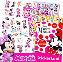 Minnie Mouse Stickers & Tattoos Party Favor Pack (200 Stickers & 50 Temporary Tattoos)