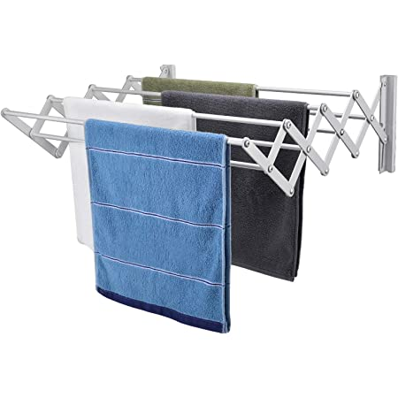 IN VACUUM Drying Racks for Laundry Foldable Retractable Clothes Drying Rack F...