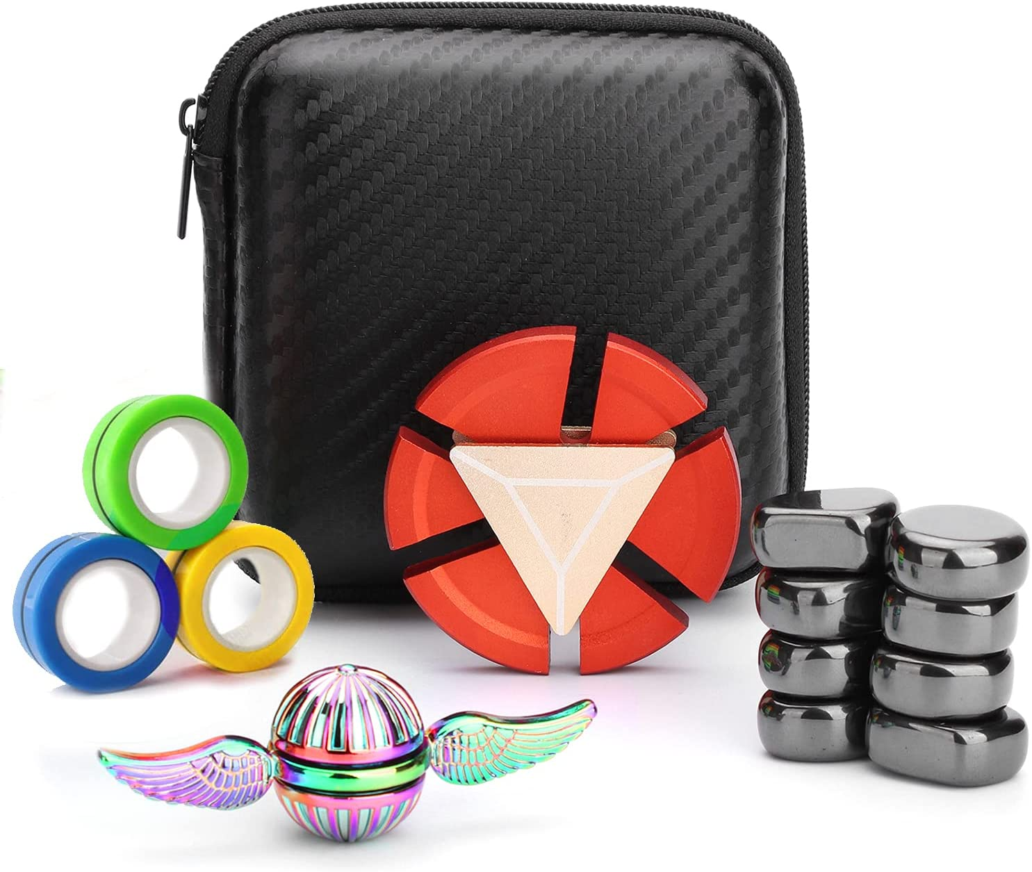 Cool Fidget Spinners Pack Toys Set Gifts for Kids Adults, Finger