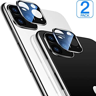 [2 Pack] Compatible iPhone 11 Pro Camera Lens Protector Ultra Transparency HD Tempered Glass Camera Protector Anti-Fringerprint Anti-Scratch for iPhone 11 Pro/ 11 Pro Max