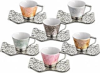 Turkish Coffee Cup Selcuk (Silver)