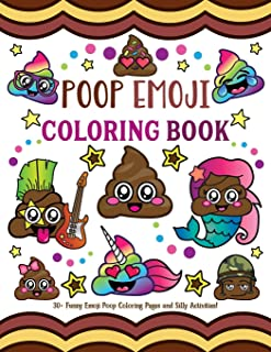 unicorn poop emoji coloring pages