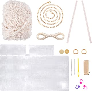 CHGCRAFT Ensemble de Tricot de Sac de Bricolage Kit de Couture Bricolage Kits de Point de Croix Kit de Sacs au Crochet à T...