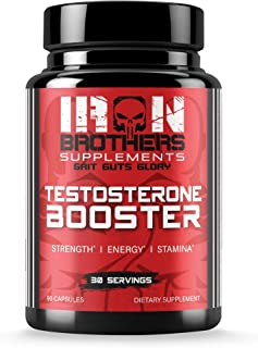 Testosterone Booster for Men - Estrogen Blocker - Supplement Natural Energy, Strength & Stamina - Lean Muscle Growth - Pro...