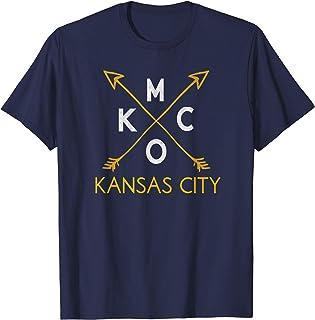 Kansas City KCMO Vintage Kc Missouri Rustic Arrowhead Kcmo T-Shirt