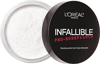 L'Oreal Paris Infallible Pro-sweep & Lock Setting Powder, Translucent, 8g