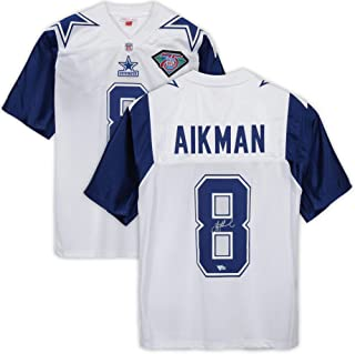 Troy Aikman Dallas Cowboys Autographed White Alternate Mitchell & Ness Authentic Jersey - Fanatics Authentic Certified