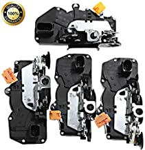 Front Rear Right &Left (4) Power Door Lock Latch Actuator For Chevy GMC Cadillac 2007-2009