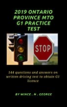 2019 Ontario Province MTO G1 Practice Test: 144 Questions and Answers on written driving test to obtain G1 licence