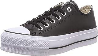 1e7ea5864cbb5 Amazon.fr   converse cuir noir   Chaussures et Sacs