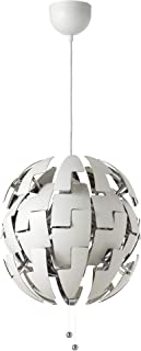 Ikea Ps 2014 Pendant Lamp, White, Silver Color 003.114.98